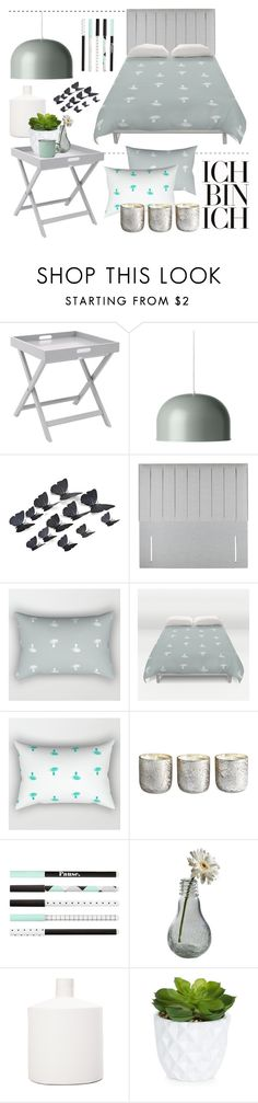 """""""Bedroom - Mint"""" by by-jwp ❤ liked on Polyvore featuring interior, interiors, interior design, home, home decor, interior decorating, Menu, Sweet Dreams, Illume and Dot & Bo"""