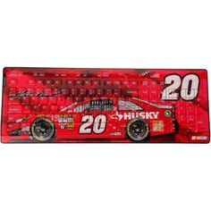 Matt Kenseth Wireless Keyboard - Red - $29.99