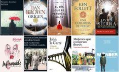 Libros más vendidos semana del 8 al 14 de enero en ficción
