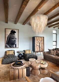 home decor 6 Jaw-Dropping Safari Lodges Thatll Completely Rewrite Your Bucket List Teach Your African Home Decor, Safari Living Rooms, African Interior Design, Home Decor, African Style Decor, Lodge Decor, African Inspired Decor, Interior Design, Living Decor