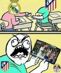An Atletico fan's worst nightmare.