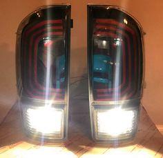 LED Tail Lights -Clear- 3rd Gen Tacoma - Limited Runs – MESO CUSTOMS LLC Tacoma Toyota, Led Board, Led Tail Lights, White Lead, Plugs, Corks