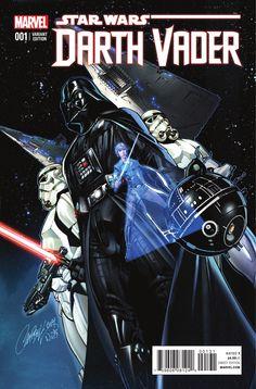 Star Wars: Darth Vader #1 Variant Cover by J. Scott Campbell