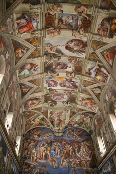 Sistine Chapel...still cannot  believe we had a private after hours tour...amazing