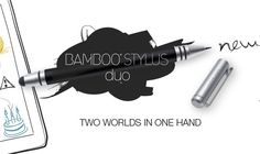 Wacom Bamboo Stylus Duo Now Includes Ink