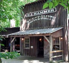 "This is the Blacksmith shop found at Cedar Point in OH, it's located in their ""Historical village"" this is what I based my design on."