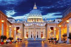 15 Sights You Have To See In Rome, Italy (17) Built in 1506, St Peter's Basilica is considered one of the holiest places of worship for Catholics across the world and if you visit on sundays you can even get an audience with the Pope.