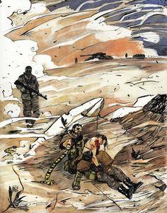 Saving Quiet, Kristina Kostova on ArtStation at… Metal Gear V, Metal Gear Solid Quiet, Snake Metal Gear, Metal Gear Solid Series, Metal Gear Rising, Cry Anime, Snake Art, Girls Anime, Sketch Inspiration