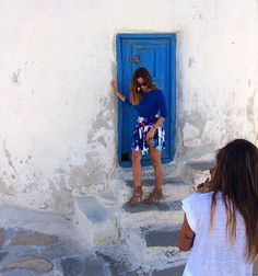 This is how we do it  backstage  from our upcoming post ✨ #kisterss #mykonos #summer #greek #island #greece #dailyzara #opstyle #taniapapadopoulou #thefashionlab #the_fashion_lab #fl