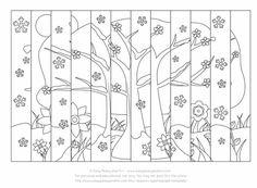 Képtalálatok a következőre: agamograph pdf Paper Crafts For Kids, Preschool Crafts, Op Art, Fall Art Projects, Autumn Art, Love Craft, Day For Night, Kirigami, Art Plastique