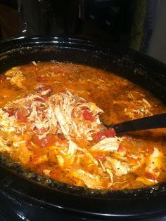 Creamy Crockpot Chicken and Tomato Soup