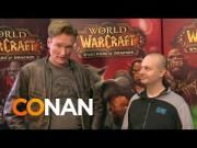 #Conan O'Brien Goes To #BlizzCon 2013 And Plays World Of #Warcraft #Game - #funny #WoW