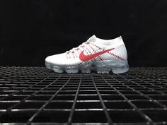 822f69648c New NIKE AIR VAPORMAX FLYKNIT 2018 White Red Women Men Nike Air Max Sale,  Nike