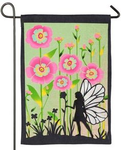 """Evergreen Whimsy Carrot Flag 28x44/"""" Decorative Flag Banner Easter Spring NIP BY"""