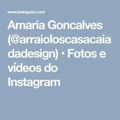 Amaria Goncalves (@arraioloscasacaiadadesign) • Fotos e vídeos do Instagram Goncalves, Foto E Video, Boarding Pass, Instagram, Throw Pillows, Pictures