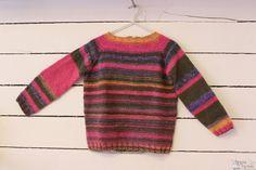 Mi primer jersey tejido con agujas circulares!!! Cero costuras!!!