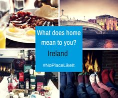 A good fry up? The Christmas lights on main street? What do you miss about home?  Send us a Video or Pic that shows what #Home means to you and tag #NoPlaceLikeIt to win a €250 #ChristmasHamper?