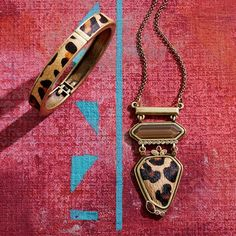 Go Wild Necklace Krn0087 And Hinge Bangle Krb0081 Are A