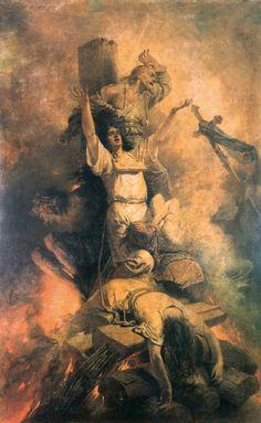 The Triumphant Saint Michael. Religious Images, Religious Art, St. Michael, Angel Warrior, Ange Demon, Saint Michel, Guardian Angels, Angels And Demons, Angel Art