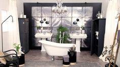 Une salle de bain années 40 Salle De Bain, Clawfoot Bathtub, Deco, Sweet Home, Bathtub