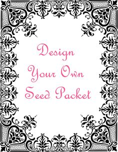 We are happy to just print the seed packets for you to your design and containing seeds (please choose seeds from drop-down menu below). Seed packets are 97 x 125 mm, 80% recycled manilla. Minimum print run - 20 packets. Please email your design after you have ordered, as a PDF or Word doc to the exact size of the packet. We can also print on the back...