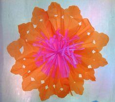 Decor 2 flower - snowflakes design