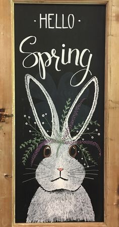 Talk about simple Easter decor. Draw a bunny and let Easter brunch begin. Talk about simple Easter decor. Draw a bunny and let Easter brunch begin. The post Talk about simple Easter decor. Draw a bunny and let Easter brunch begin. appeared first on . Chalkboard Doodles, Blackboard Art, Chalkboard Drawings, Chalkboard Lettering, Chalkboard Designs, Chalk Drawings, Chalkboard Text, Chalkboard Decor, Poster A3