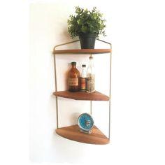 Angles, Floating Shelves, Vintage Fashion, Decoration, Home Decor, Style, Arredamento, Decor, Swag