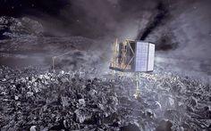 #CometLanding : Rosetta Spacecraft's #PhilaeProbe Lands on #Comet67P