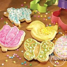 Frosted Easter Cut-Outs from Pillsbury® Baking