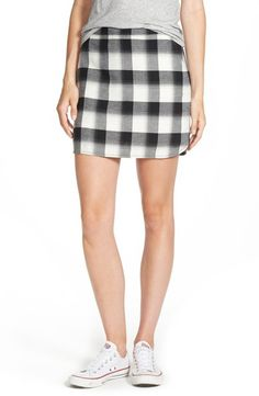 Plaid is Back this Fall!: Treasure&Bond Plaid Mini Skirt