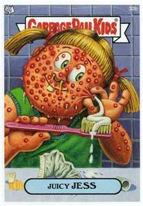garbage pail kids@Amy Jefferson  Do you still have the trading cards?