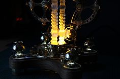Power Wire, Steampunk Lamp, Work Lights, Lamp Bases, Light Bulb, Finding Yourself, Table Lamp, Led, Lighting