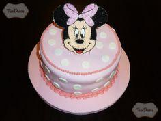 Torta Decorada, Minnie Mouse.