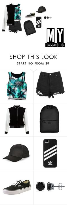 """""""street style is perf...no"""" by molly-523-11-03 ❤ liked on Polyvore featuring New Look, Rains, BCBGeneration, adidas, Vans and BERRICLE"""