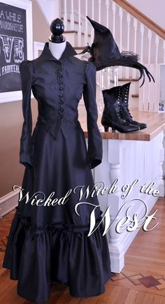wicked witch of the west...Would be totally easy to create at home.