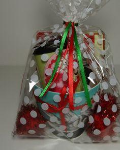 Thread Riding Hod - Clear Gift Bag Tutorial