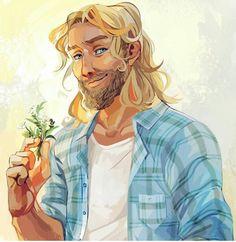 Frey, God of Summer and Fertility - Rick Riordan's Magnus Chase and the Gods of Asgard -Viria
