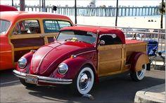 Volkswagen Beetle Wood