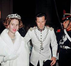 Queen Fabiola and King Baudouin of the Belgians in Mexico City, 1965