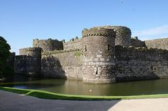 Anglesey, Wales    Beaumaris Castle