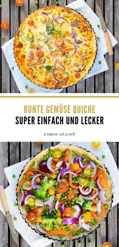 Bunte Gemüse-Quiche eating breakfast eating dinner eating for beginners eating for weight loss eating grocery list eating on a budget eating plan eating recipes eating snacks Clean Eating Diet Plan, Clean Eating For Beginners, Clean Eating Recipes For Dinner, Clean Eating Breakfast, Recipes For Beginners, Clean Eating Snacks, Dinner Recipes, Healthy Crockpot Recipes, Baby Food Recipes