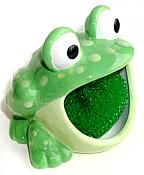Spotted Frog Scrubbee Holder