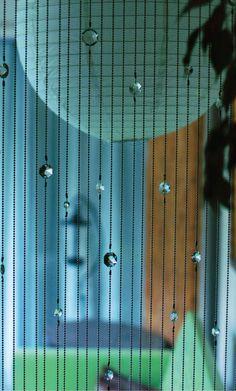 DIY crystal curtain