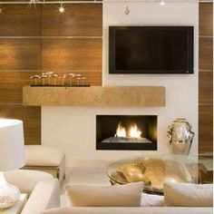 Trendy Large Living Room Furniture Arrangement Ideas Built Ins 20 Ideas Ideas Decoracion Salon, Living Room Arrangements, Living Room With Fireplace, Small Fireplace, Metal Fireplace, Off Center Fireplace, Fireplace Lighting, Basement Fireplace, Bioethanol Fireplace