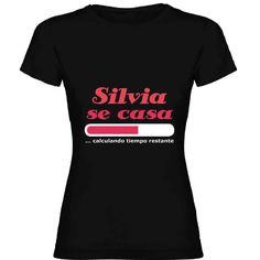 Regalos con nombre: Camiseta divertida despedida de soltera