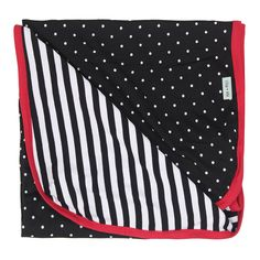 Black and White Dotty Baby Blanket
