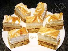 Web Confectionery – For homemade cake lovers – pastry types Hungarian Desserts, Homemade Cakes, Winter Food, Confectionery, Cheesecake, Dessert Recipes, Food And Drink, Favorite Recipes, Sweets