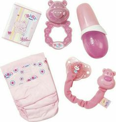 Baby born – Set de 5 accessoires Baby born – Set of 5 accessories Baby Dolls For Kids, Baby Girl Toys, Toys For Girls, Bitty Baby, Baby Born, Baby Doll Diaper Bag, Diaper Bags, Baby Doll Furniture, Baby Doll Strollers