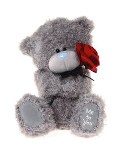 Me To You Red Rose Bear | very.co.uk
